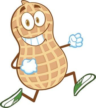 Smiling Peanut  Running