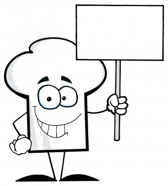 Cartoon Chefs Hat Character