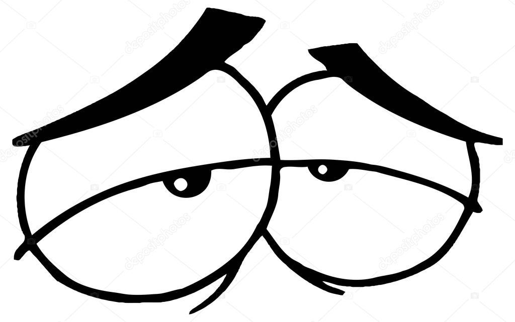 Animado: Dibujo Ojos Tristes