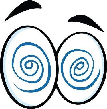 Hypnotized Cartoon Eyes.