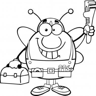 Pudgy Bee Plumber