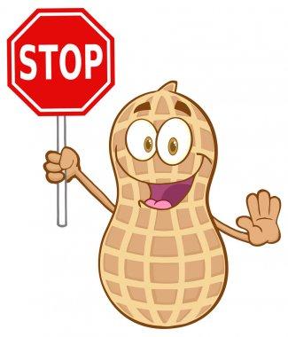 Peanut Cartoon Character