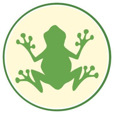 Green Frog Logo.