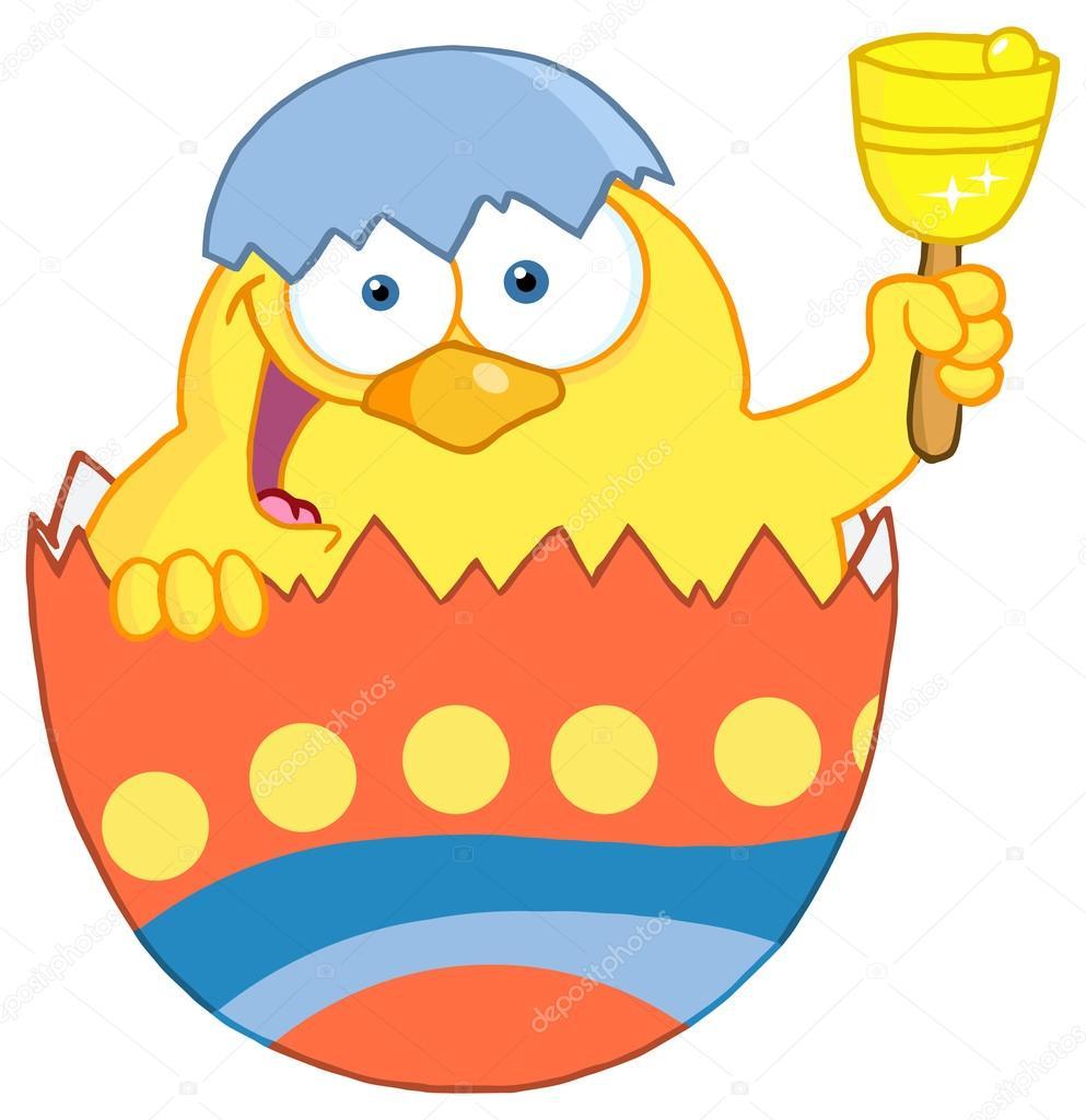 Happy Yellow Chick