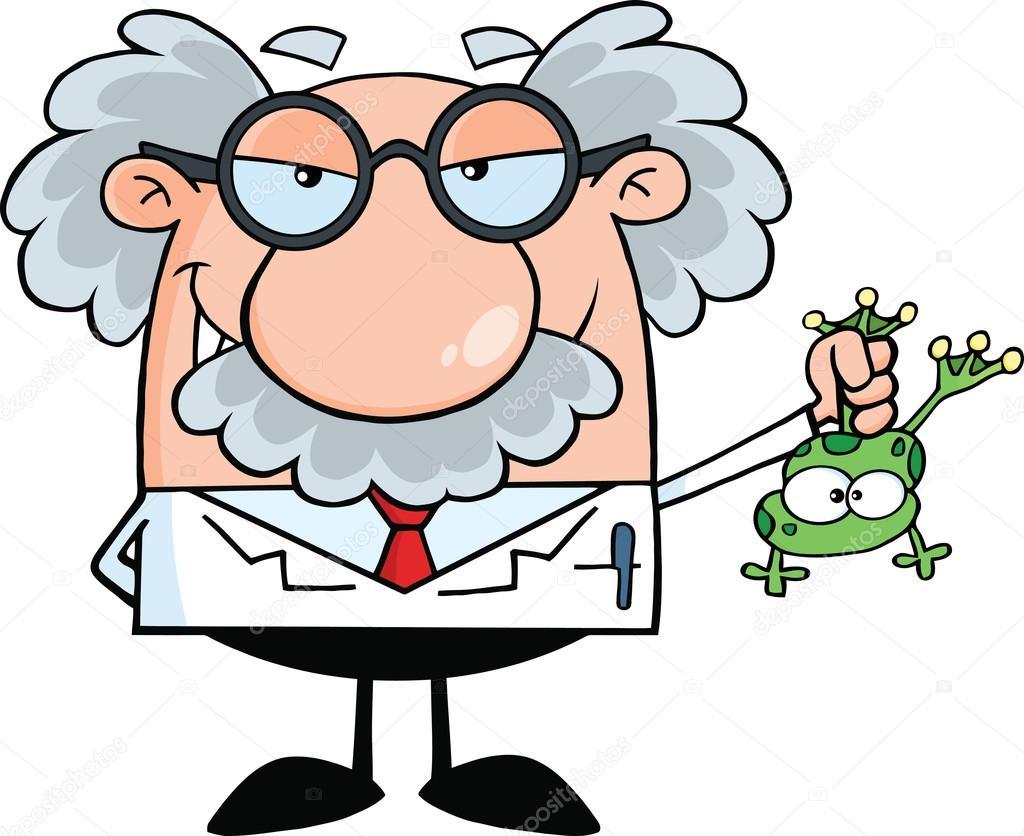 smiling mad scientist stock vector hittoon 61075575 rh depositphotos com mad scientist clip art cartoon mad science clipart