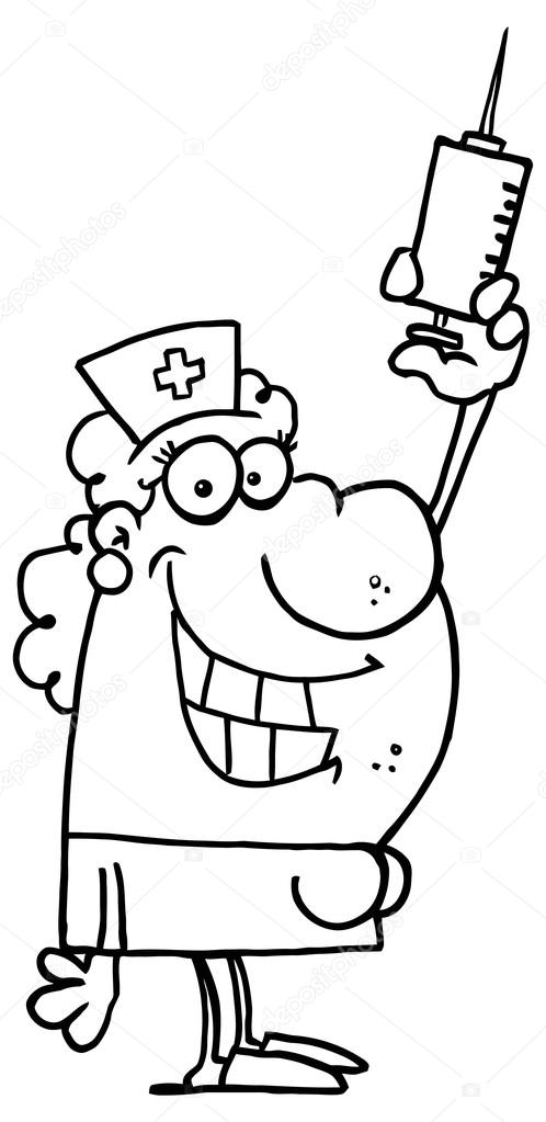 Doktor Karakter Karikatür Stok Vektör Hittoon 61077657