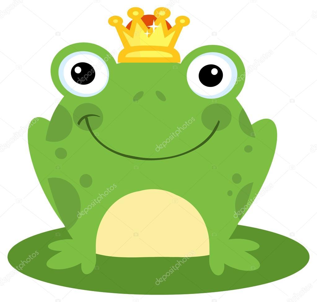 Principe ranocchio personaggio u2014 vettoriali stock © hittoon #61078375