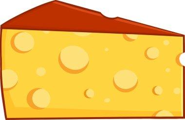 Cartoon Wedge Of Cheese