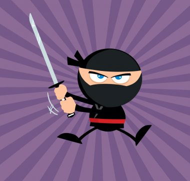 Angry Ninja Warrior Jumping