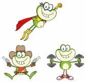 frog animal set