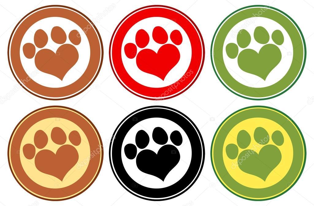 imprimir etiqueta de cachorro vetor de stock hittoon 61108721