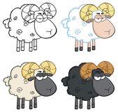 ovce znaková sada