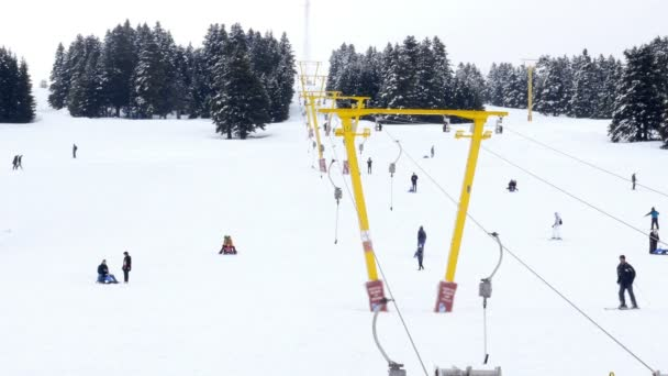 Zimní sníh sport centrum