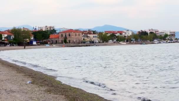 Pobřeží u moře v Turecku