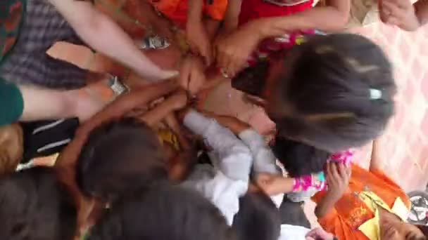 Charity donation to poor kids