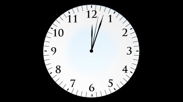 Clock time with seconds