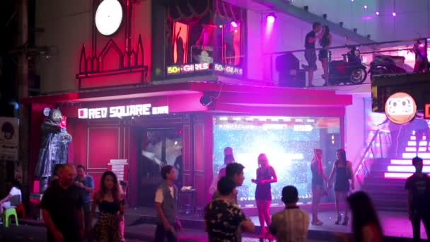 Nightlife with prostitution