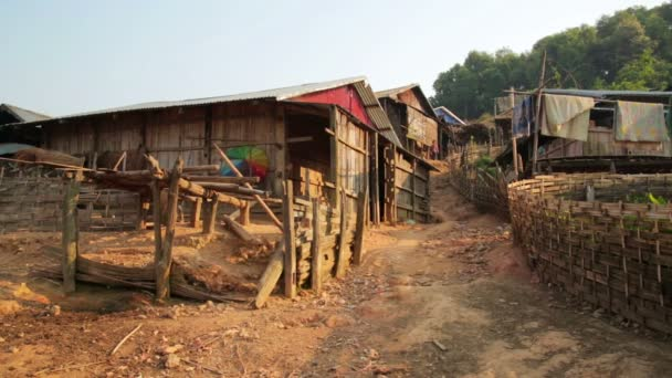 Akha people in  hill village on mountain