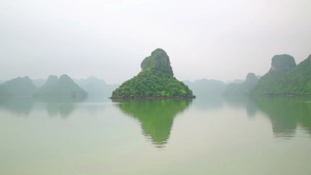 Limestone mountain islands