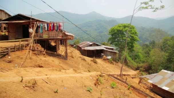 Tribal culture of Akha tribe village