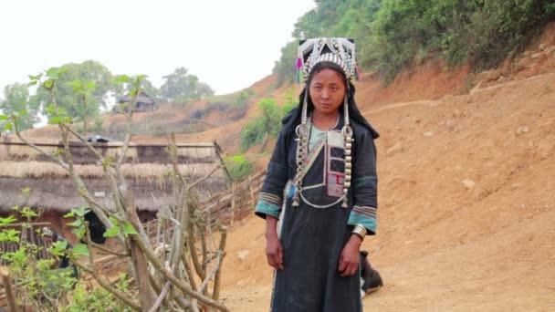 Indigenous native tribal woman
