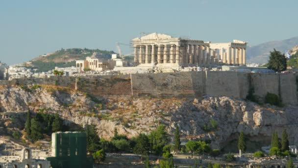 Ancient Acropolis in Athens