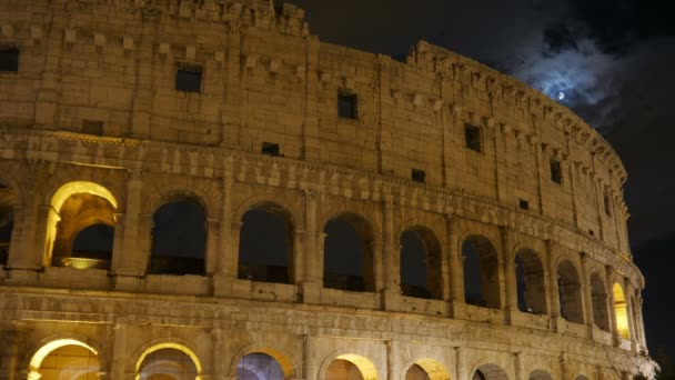 Ancient Colosseum at Night