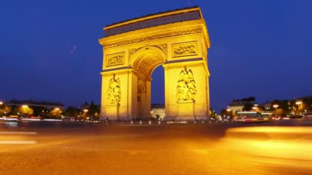 Champs-Elysées v noci