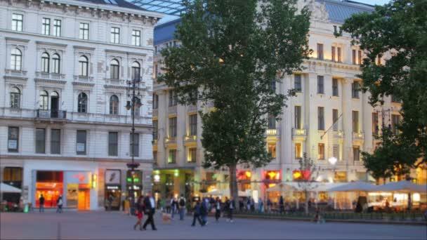 Magyar belvárosi utcán Budapesten