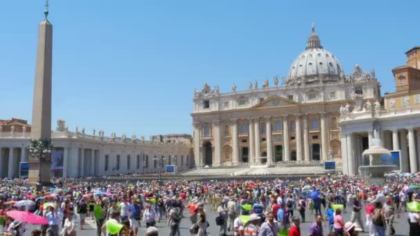 People visiting Vatican city