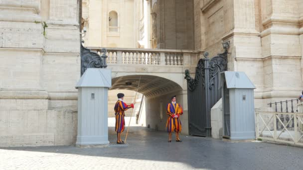 Swiss Guards of Pope