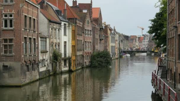 Krásný výhled na město Gent