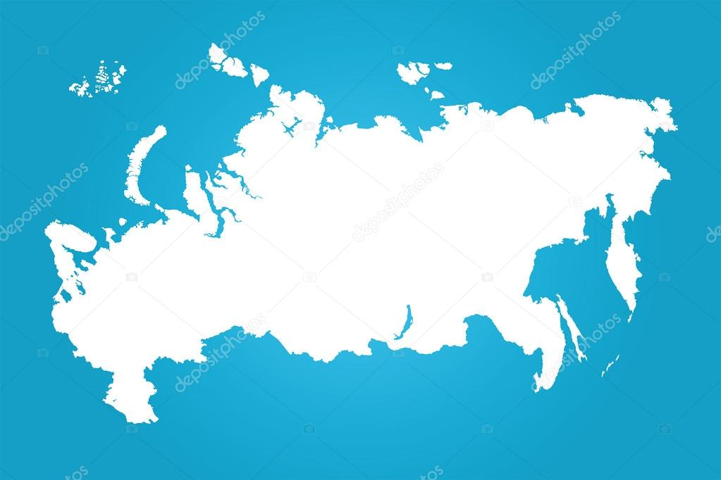 Russia clear map stock vector uncleshnyuk 63031723 clear map stock vector gumiabroncs Choice Image