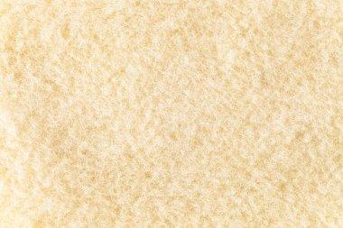 Closeup of new  beige woolen blanket stock vector