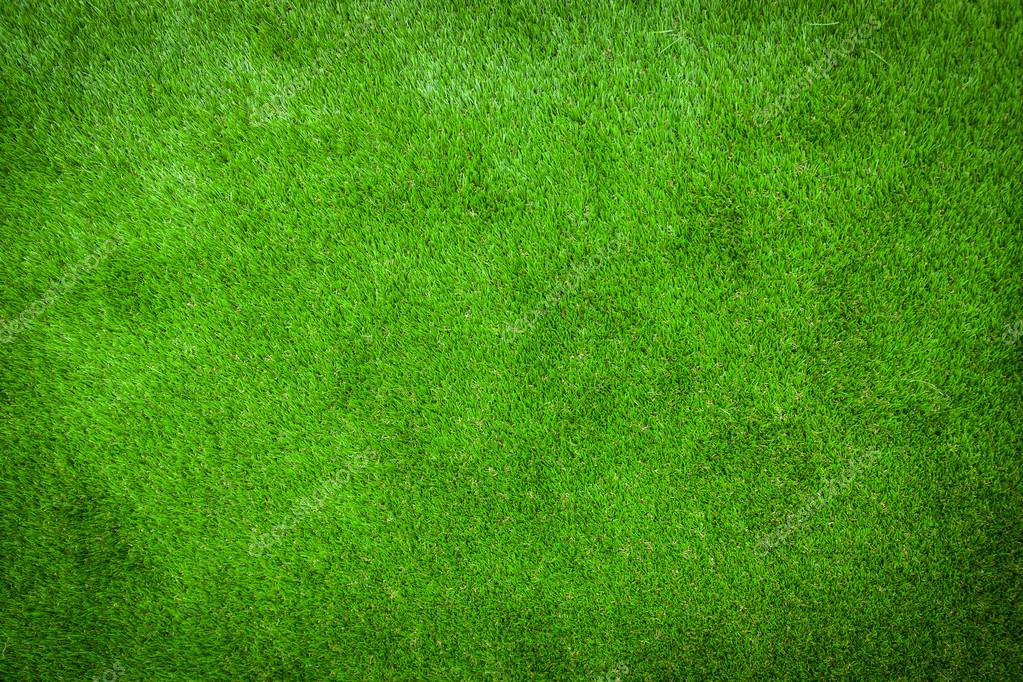 Green lawn background