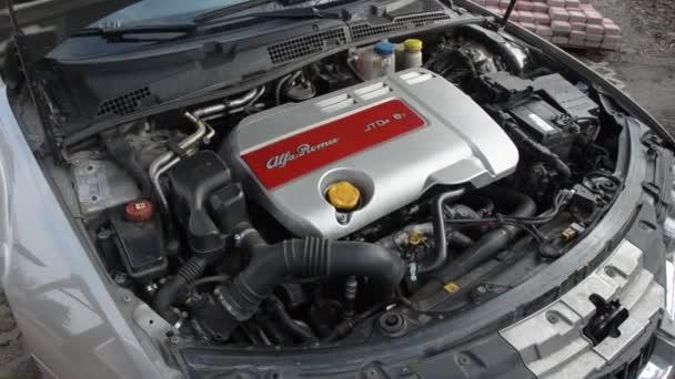 Pracovní dieselový motor