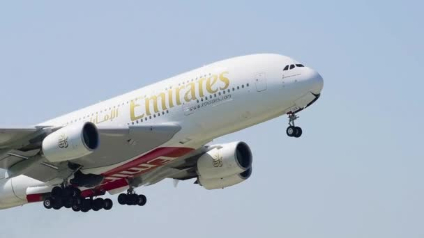 Airbus A380 while take off