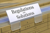 Regulations and solutions