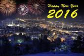 Fotografie Frohes neues Jahr 2016