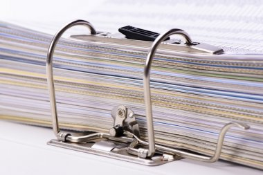 Detail of file folder