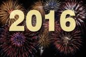 tűzijáték: új év 2016
