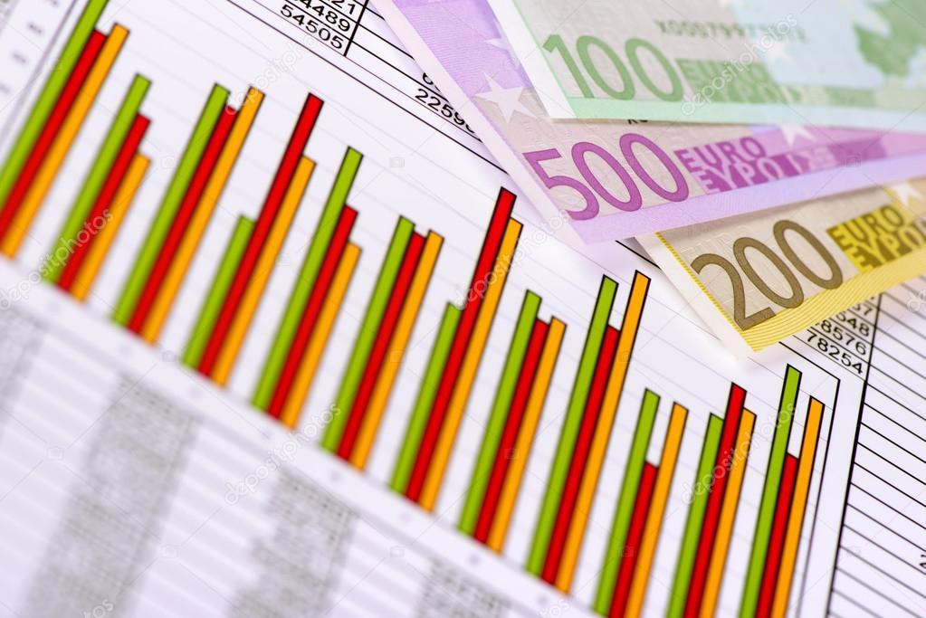 Finanzielles-Diagramm am Aktienmarkt — Stockfoto © filmfoto #92896798