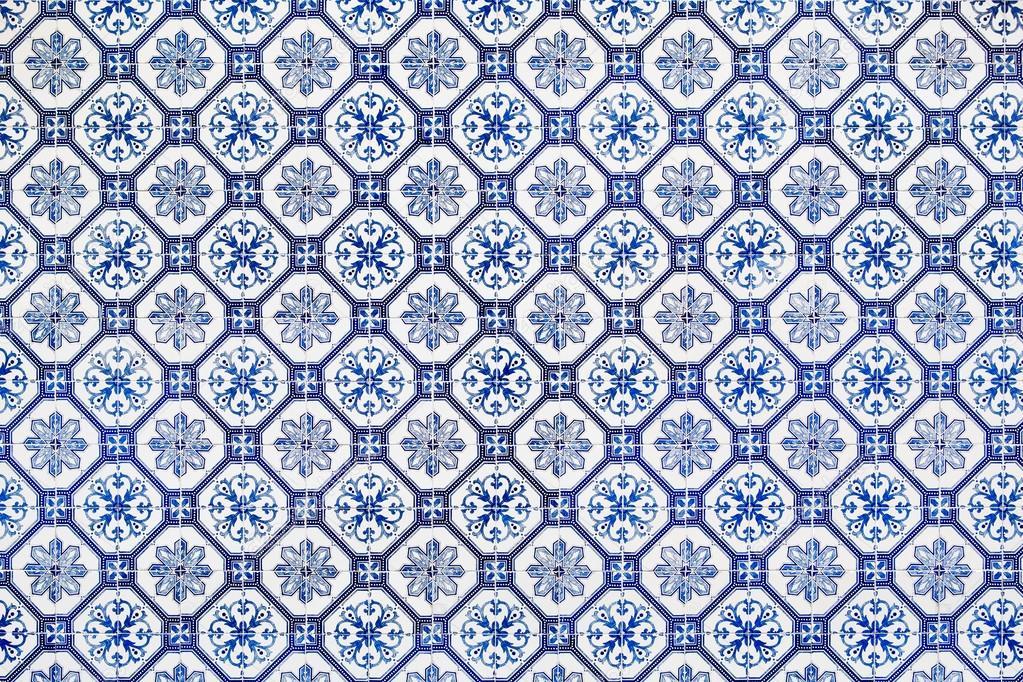 Azulejos blu piastrelle da lisbona foto stock - Stock piastrelle 2 euro ...