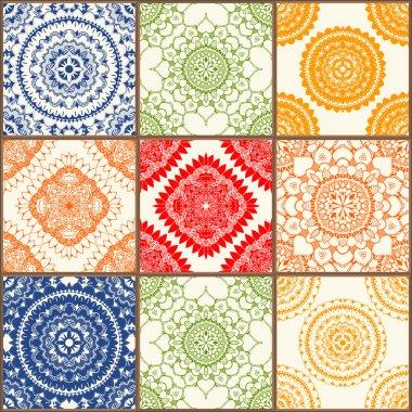 ceramic tiles set