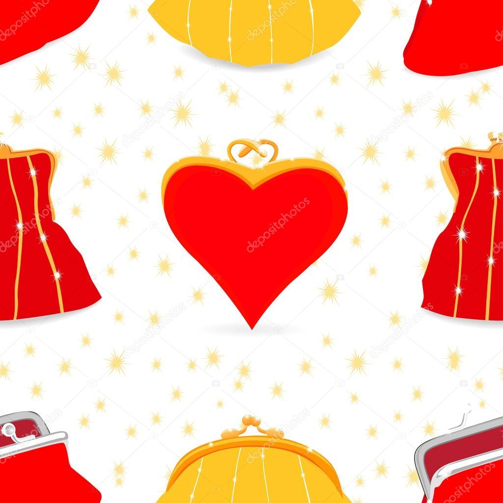 Patrón de bolsos sin costura, de bolsos mujer de diferentes estilos ...