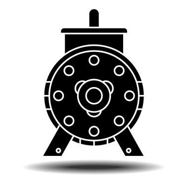 """Картина, постер, плакат, фотообои """"символ электродвигателя"""", артикул 112269736"""