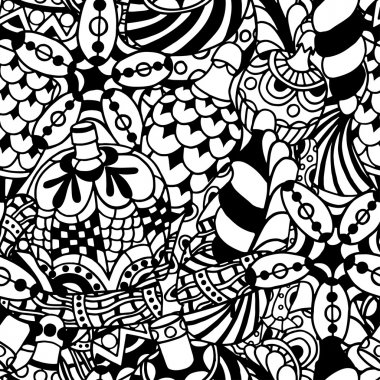 pattern with christmas