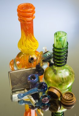 colorful water pipes