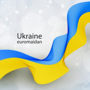 Ukrainian flag tape