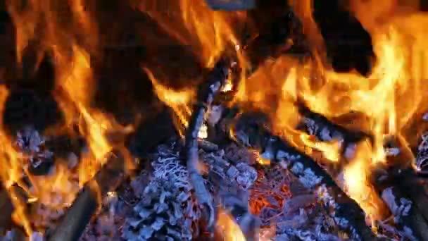dřevo na podpal v krbu